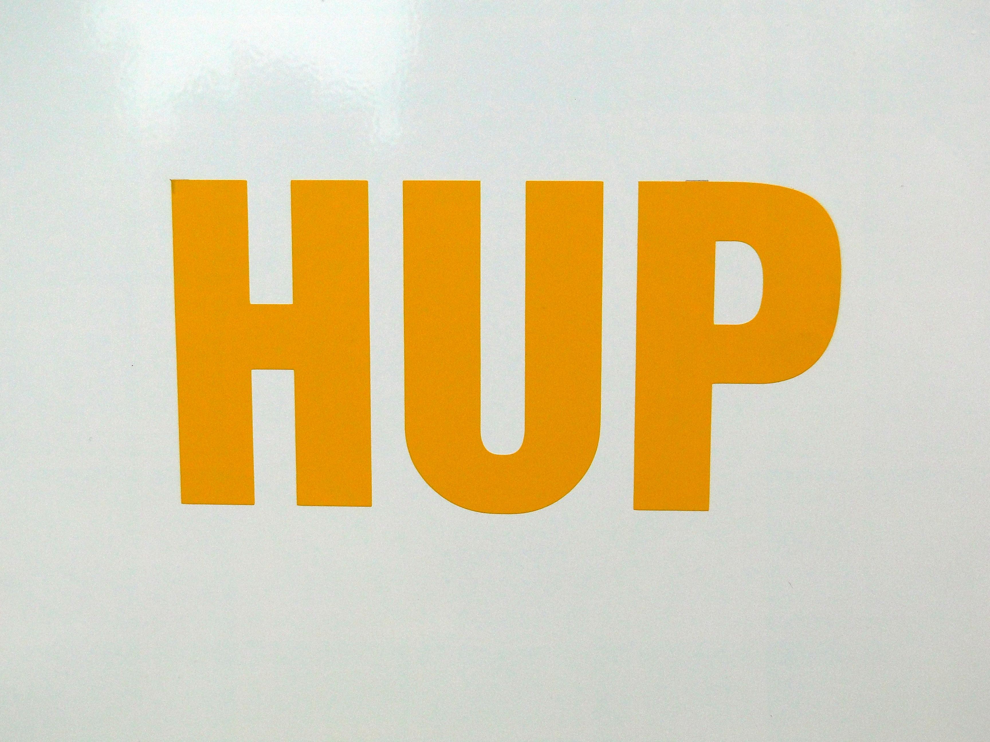 Samolepka HUP